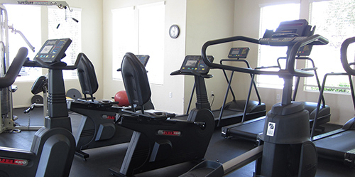 Amber Ridge Condos Workout Gym
